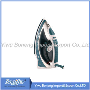 Electric Travelling Steam Iron Sf 240-793 Electric Iron with Ceramic Soleplate (Green) pictures & photos