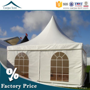 Fabric Structures 6mx6m Hang Ceiling Pagoda Tent White Canvas Sidewall pictures & photos