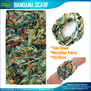 Seamless Tube Polyester Bandana Scarf (J-NF20F20018) pictures & photos