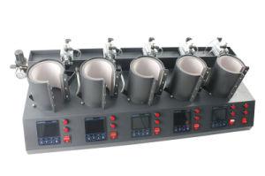 5 in 1 Pneumatic Digital Cup Mug Heat Transfer Printing Press Machine MP150*5 pictures & photos