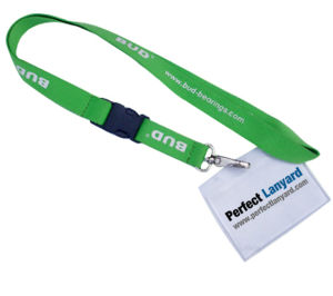 ID Card Holder Lanyards / Promotional Lanyard / Woven Lanyard (L-091) pictures & photos