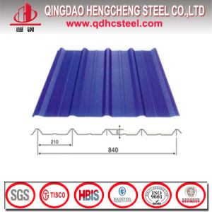 PPGI Color Coated Steel Corrugated Sheet for Roof pictures & photos