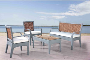 Rattan Outdoor Leisure Alu Sofa pictures & photos