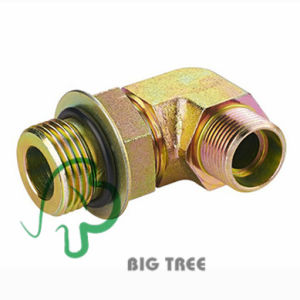 90 Degree Elbow with O-Ring Sealing Fitting Hydraulic Adaptor pictures & photos