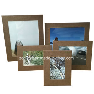 "8.5 X 11 "" Textured Color Paper Photo Frame pictures & photos"