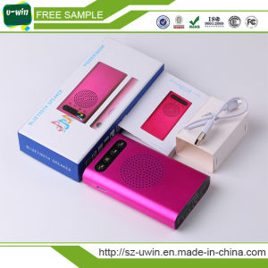 8000mAh Portable USB Power Bank with Bluetooth Speaker pictures & photos