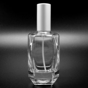 (LJ2181) 110ml Trapeziform Square Glass Perfume Bottle