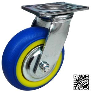 Heavy Duty Blue TPR Caster (Swivel) pictures & photos
