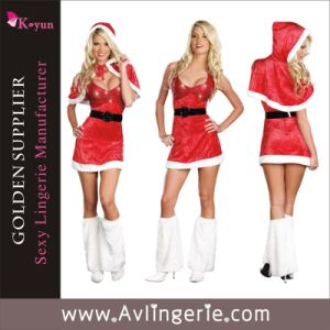Sexy Adult Party Christmas Fancy Dress Set Costume (KUF0-006)
