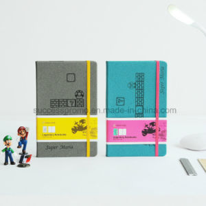 Custom A4/A5/A6 Leather Notebook Super Mario Cover pictures & photos