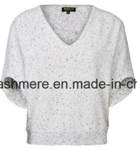Women′s Top Grade Pure Cashmere Knitwear Van-A16W-004 pictures & photos