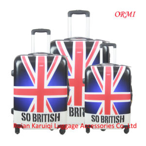 Fashion PC British Flag Printing Luggage pictures & photos