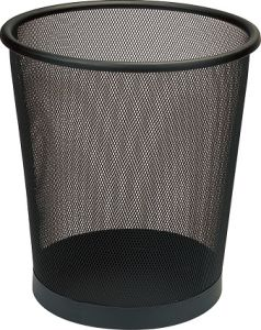 Round Metal Mesh Waste Basket for Hotel & Office (GPX-74-12) pictures & photos