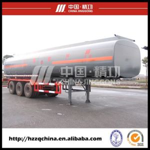 Tank Truck with Tank Semi-Trailer for Sale pictures & photos