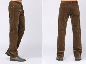 2015 Winter Corduroy Trousers/ Men′s Straight Casual Long Pant pictures & photos