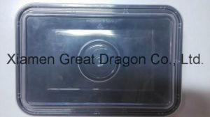 Plastic Microwave Rectangle Container (Lunch Box) (LB12013) pictures & photos