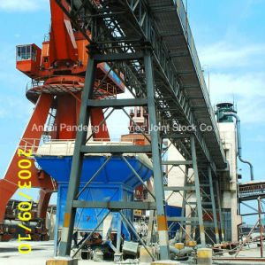 Cema/DIN/ASTM/Sha Trussed Belt Conveyor Application in Steelworks/Cement/Port pictures & photos
