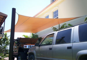 Car Parking Sun Shade Sail for Garden and Company