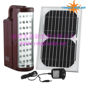 Solar Camping Lamp with LED Lights and Solar Panel (SZYL-SCL-03) pictures & photos