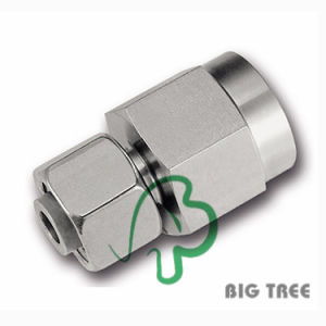 Adjustable Pressure Gauge Connector Single Ferrule Fitting Stainless Steel 316 pictures & photos