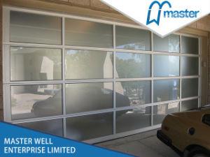 Good Quality Unbreakable Glass Door Garage Doors pictures & photos