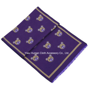 2016 New Style Purple Little Bear Pashmina Scarf pictures & photos