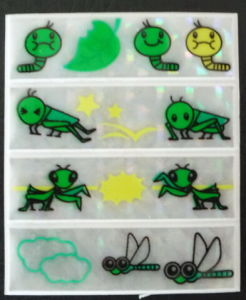 Customized Reflective Toy Stickers pictures & photos