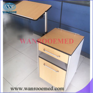 Bc010e Wooden Bedside Cabinet with Lateral Height Adjustable Table pictures & photos