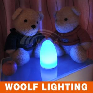 Multi Colors Egg Shape PE LED Night Lights pictures & photos