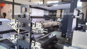 Notebook Flexo Ruling/Printing Machine with Automatic Cover Feeder pictures & photos