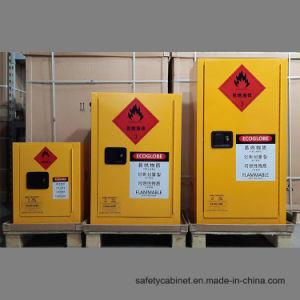 Westco 12 Gallon Yellow Safety Storage Cabinet for Flammables (OSHA & NFPA) pictures & photos