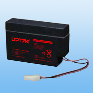 12V0.8ah Lead Acid Rechargeable UPS Battery with Cable Plug