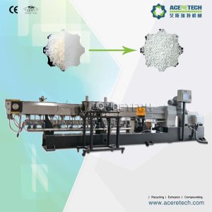 Full Automatic CaCO3 Filler Master Batch Compounding Granulating Machine pictures & photos