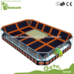 2015 Customized Indoor Trampoline Location for Children and Adults pictures & photos