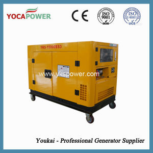 10kw Water-Cooled Diesel Engine Portable Silent Diesel Generator Set pictures & photos