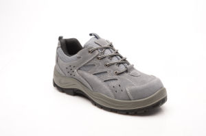 Sports Style New Designed Suede Leather & Mesh Safety Shoes (SP1003) pictures & photos