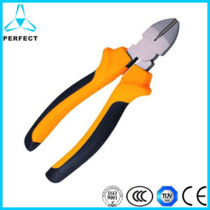 High Quality Rubber Handle Drop Forged Cr-V Pliers pictures & photos