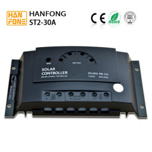 30A Manual PWM Solar Charge Controller for Home Solar System (ST2-30) pictures & photos