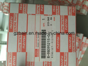 Isuzu Excavator Diesel Engine 4le2X Original Piston Ring (8-98095215-1/8-98095215-0) pictures & photos
