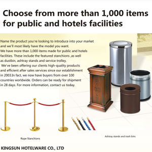 Hotel Product Supply Equipments pictures & photos
