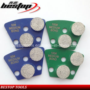 25X12mm Segmented Metal Floor Diamond Grinding Pads for Concrete pictures & photos