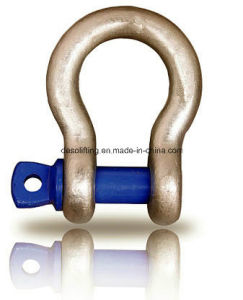 Electric Galvanized Screw Pin Anchor Shackle From Factory pictures & photos