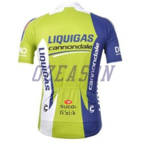 100% Polyester Man′s Short Sleeve Cycling Jersey Sportswear pictures & photos