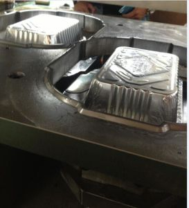 Household Aluminium Foil Trays Making Machine with Ce Certificate pictures & photos