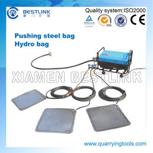 China Patent Pushing Device Steel Hydro Bag for Granite Block pictures & photos