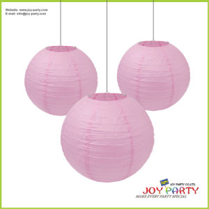 Pink Decotive Round Paper Lantern pictures & photos