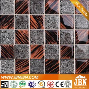Glass Mosaic, Golden Paper and Hand Painting (G848005) pictures & photos