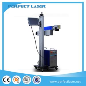 LCD Touch Screen Online Flying for Prodiction Line Cable Laser Marking Machine (PEDB-LCD20W) pictures & photos