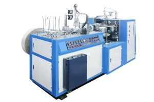 Automatic Ultrasonic Paper Bowl Shaper for Single PE Paper pictures & photos