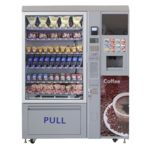 Selling Promotion Food Snack /Cold Beverage and Coffee Vending Machine LV-X01 pictures & photos